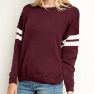 Maroon Brandy Melville Sweater